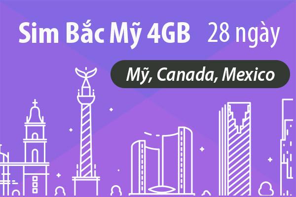 Canada mexico 4gb